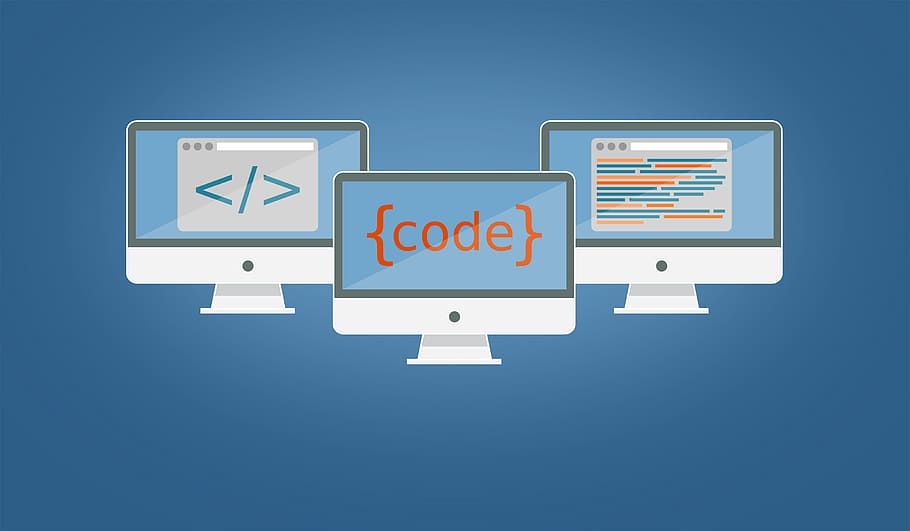 Web design and coding image for programming for kids