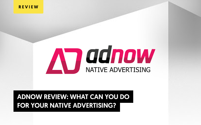 AdNow Review 2020: What Can You Do For Your Native Advertising?