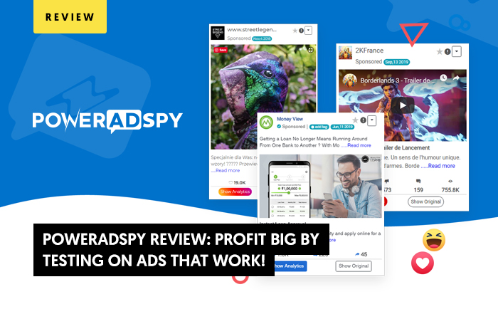 PowerAdSpy Review 2020: Profit BIG By  Testing On Ads That Work!