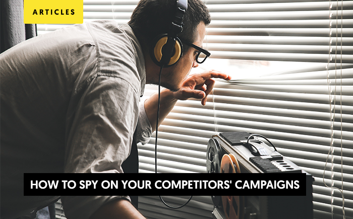 Spy yours competitors and win the race