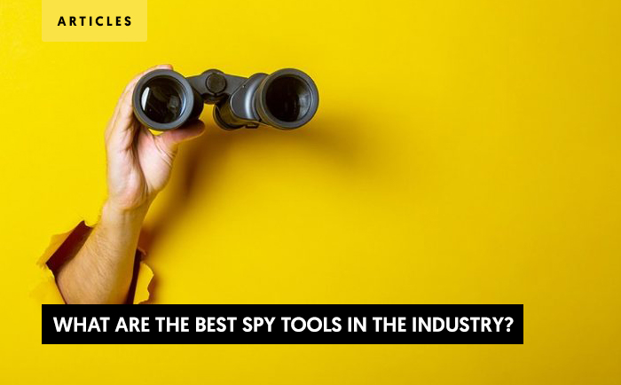 What are the best Spy Tools in the Industry?