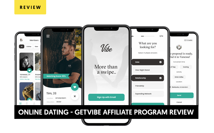 Getvibe - The Online Dating App and Affiliate Program Review