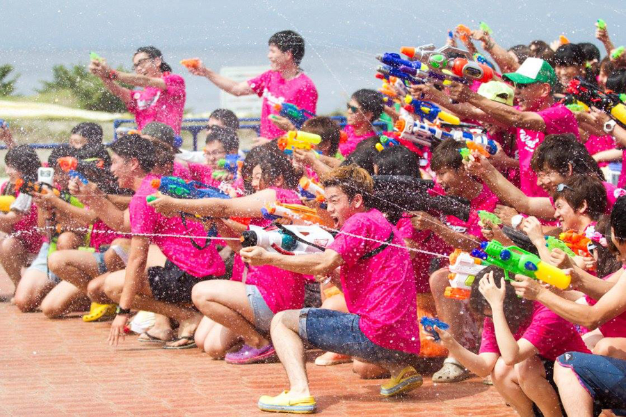Japan's Water Run Festival Returns to Chiba
