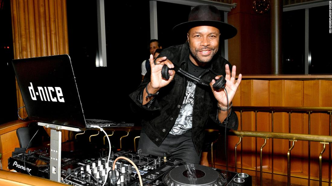 "DJ D-Nice Turns His Living Room Into ""Club Quarantine"" for Livestream Party"