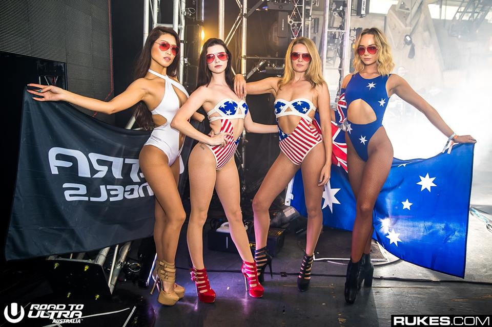 Ultra Australia: A Day in the Life of an Ultra Angel