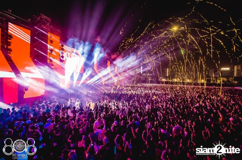 808 Festival in Bangkok Levels Up With Armin van Buuren's A State of Trance and Skrillex