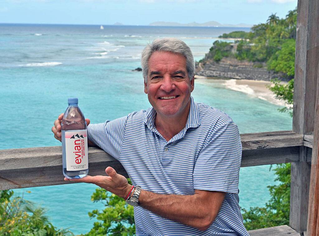 Fyre Festival's Andy King Chosen as New Face for Evian Water