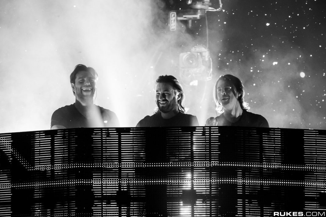 Listen to Swedish House Mafia Trial New Music at Tele2 Arena