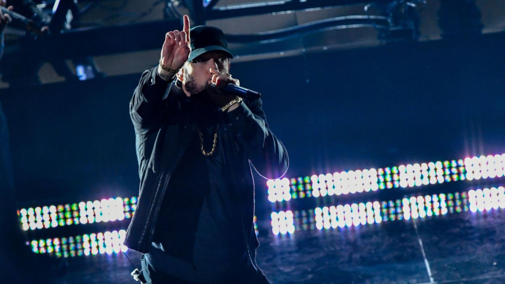 Eminem Gives Surprise Performance of 'Lose Yourself' at 92nd Oscars