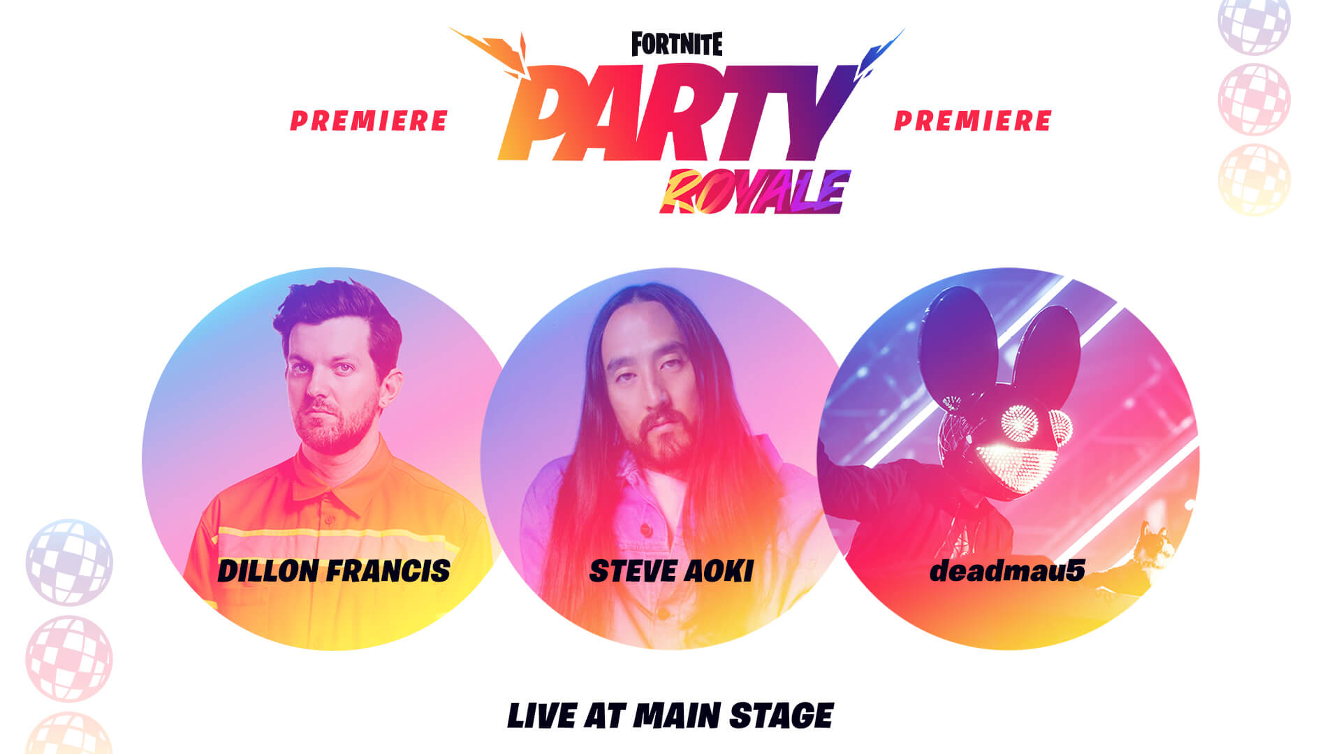 Party Royale: Fortnite's Concert with Dillon Francis, Steve Aoki and Deadmau5