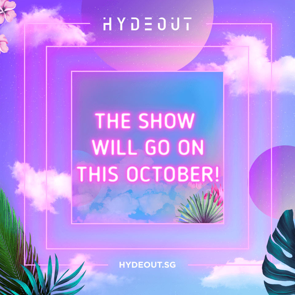 Hydeout Singapore the Latest Festival Postponed due to Coronavirus