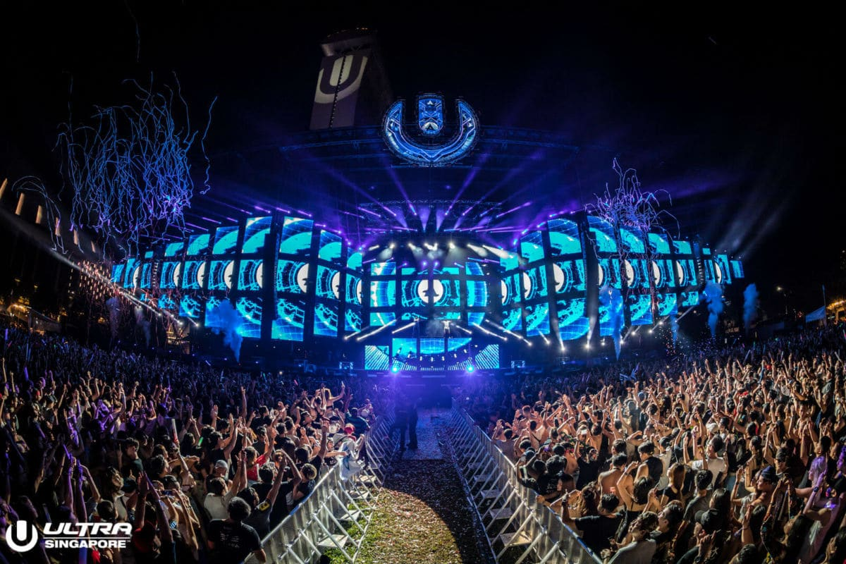 Ultra Singapore 2019 Confirms Venue Change: Weather Brings Festival Indoors