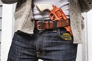 handgun badge frincon