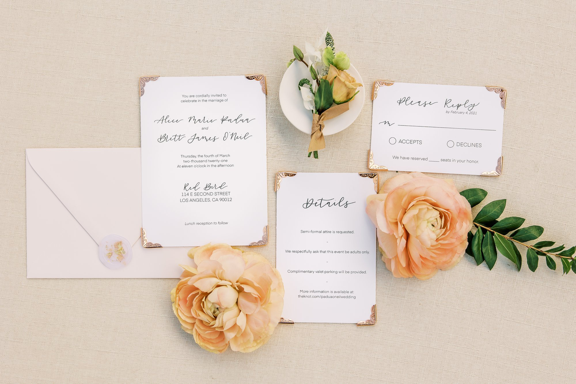 Go Green with Eco-Friendly Wedding Invitations and Stationery