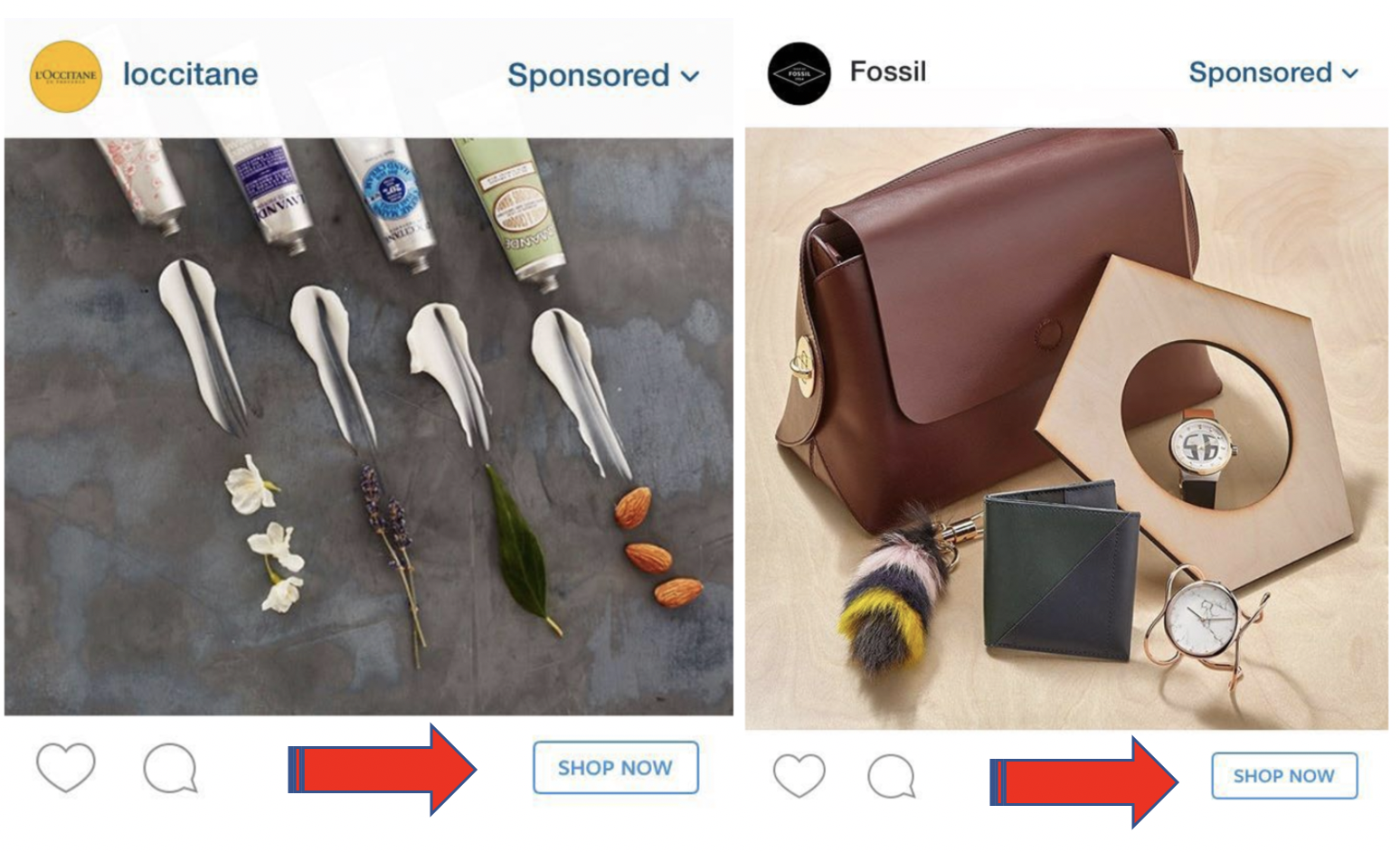 Instagram CTA on Ads – Shop Now!