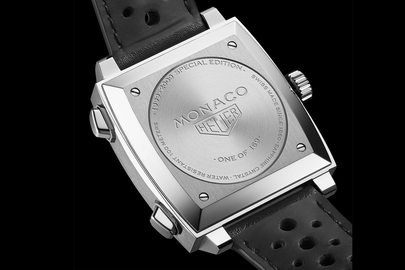 Tag Heuer horloge Monaco 4th Limited Edition 1999-2009 series - 1 van de 169 stuks