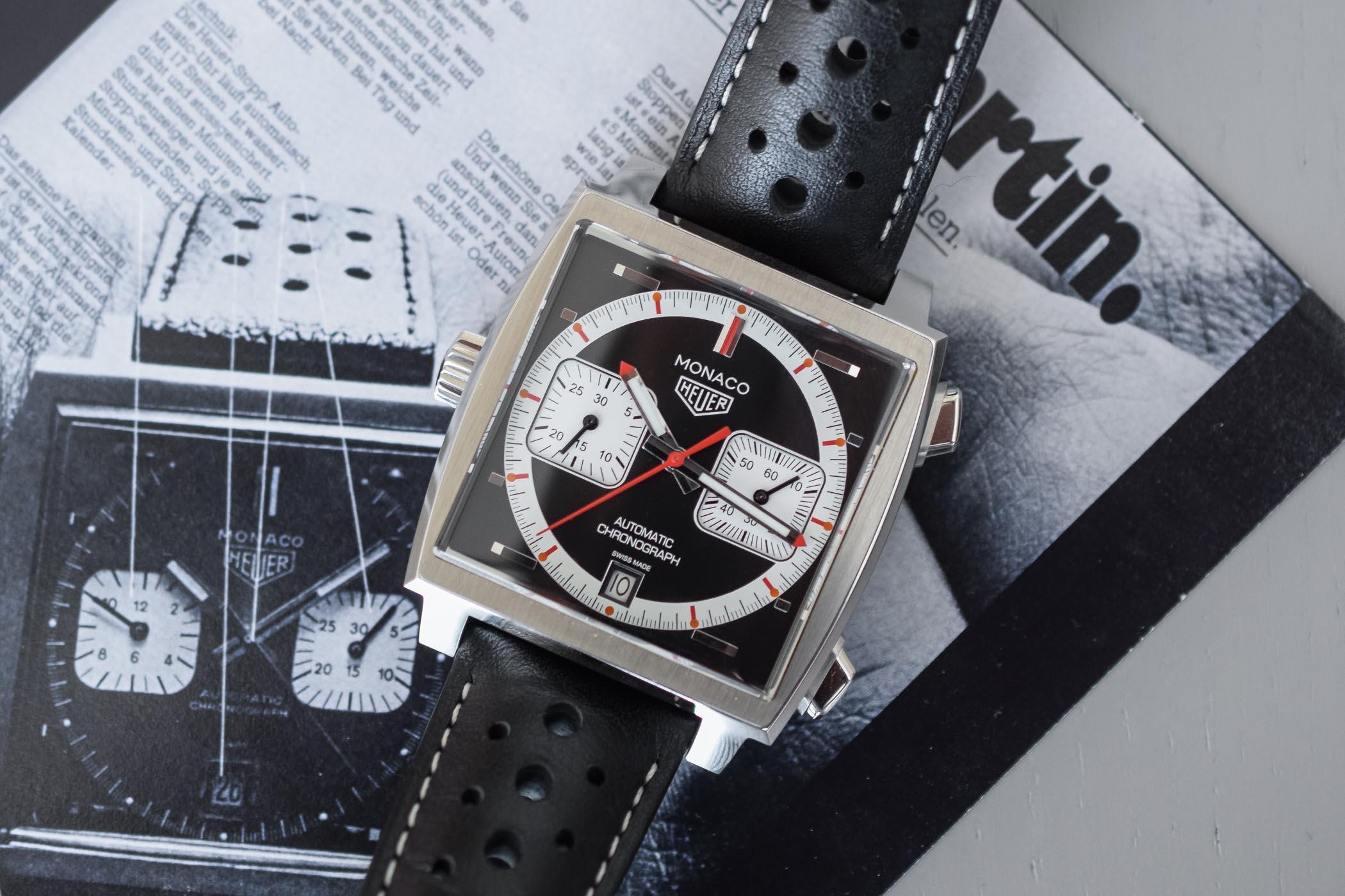 Het Tag Heuer horloge Monaco van toen naar nu met de 4th Limited Edition 1999 -2009 serie