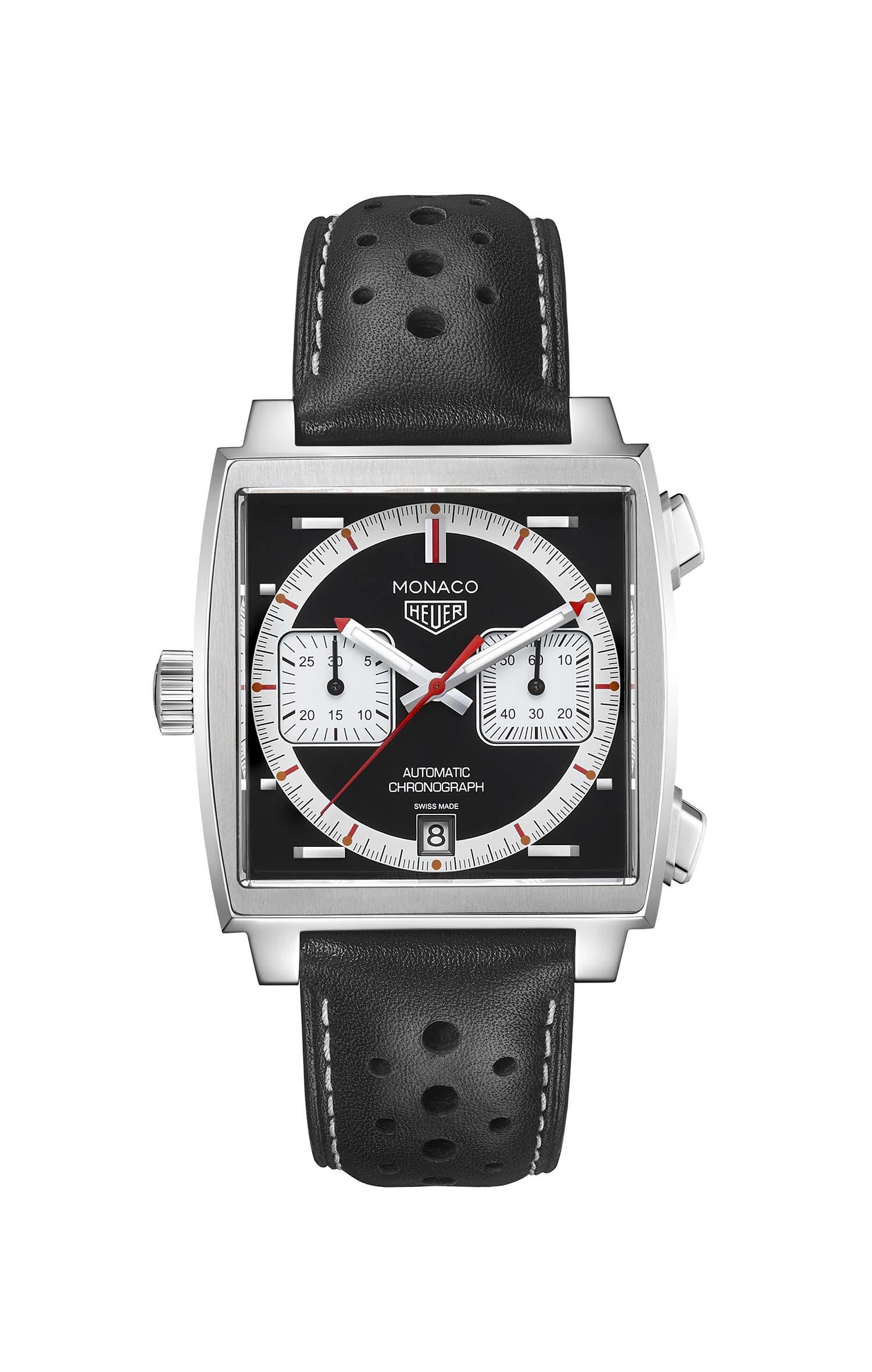 Tag Heuer horloge: De 4e Limited Edition van de Tag Heuer Monaco in een reeks van 5 edities