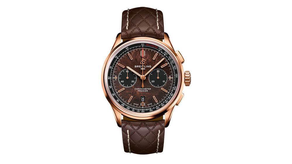 Breitling horloge: De Breitling B01 Chronograph 42 Centenary Limited Edition in samenwerking met Bentley