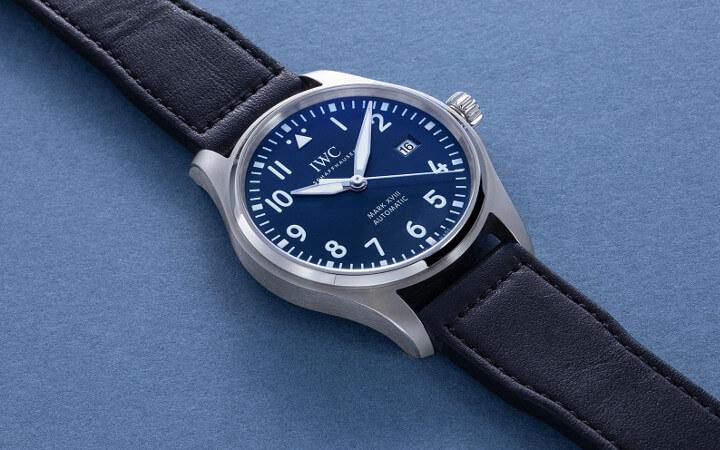 IWC horloge Mark XVIII, speciaal ter ere van het 150 jarige jubileum - voor medewerkers
