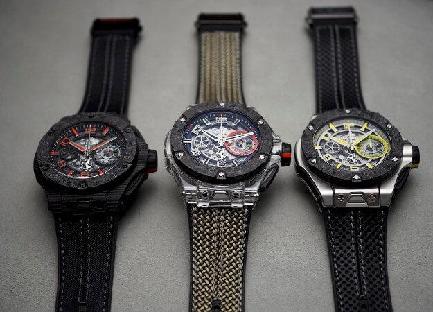 Hublot horloge: De gelimiteerde 3 versies van het Hublot horloge Big Bang Scuderia Ferrari 90th Anniversary